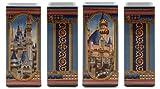 Disney Parks/Disney Store Walt Disney World/WDW/Magic Kingdom Cinderella Castle and Disneyland Sleeping Beauty Castle Ceramic Vase by Jeff Granito