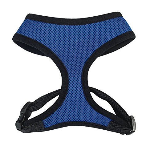 Casual Canine Mesh Dog Harness, Medium, Blue (Casual Canine Mesh Dog Harness compare prices)