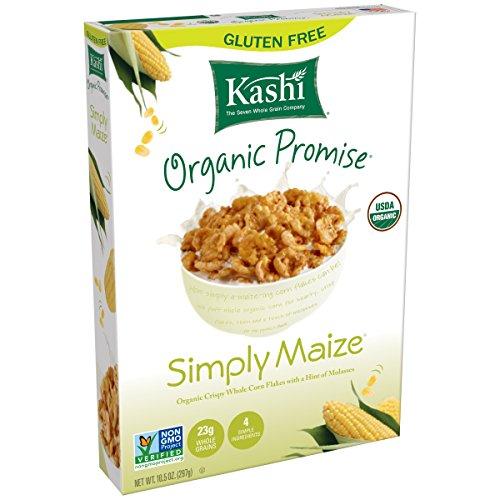 Kashi Simply Maize Cereal, 10.5-Ounce (Organic Corn Flakes Cereal compare prices)