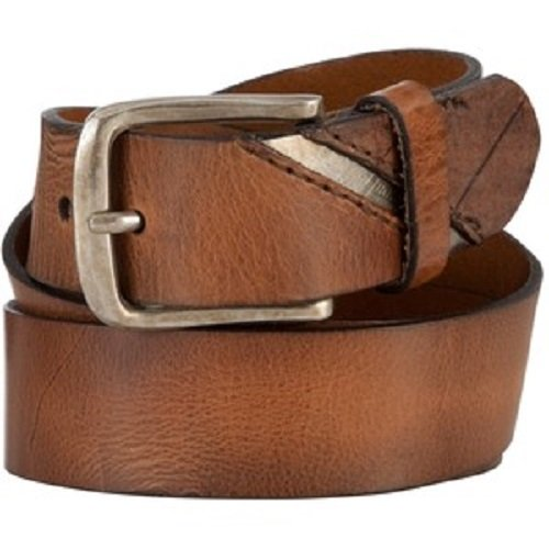Light Brown Leather Belt