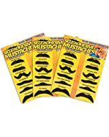 Blue Ridge Novelty Fake Mustache Novelty and Toy, Pack of 36 Mustaches