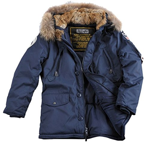 Alpha Ind. Jacke Polar Jacket RF - rep.blue NEU