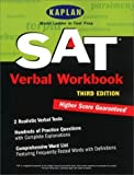 img - for Kaplan SAT Verbal Workbook, Third Edition (Kaplan SAT Critical Reading Workbook) by Kaplan (2000-10-01) book / textbook / text book