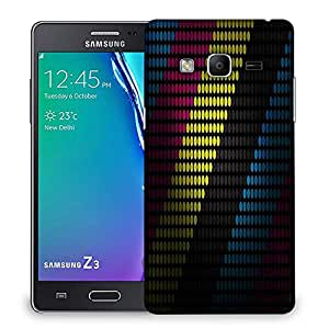 Snoogg Multiocolor Strips Designer Protective Phone Back Case Cover For Samsung Galaxy Tizen T3