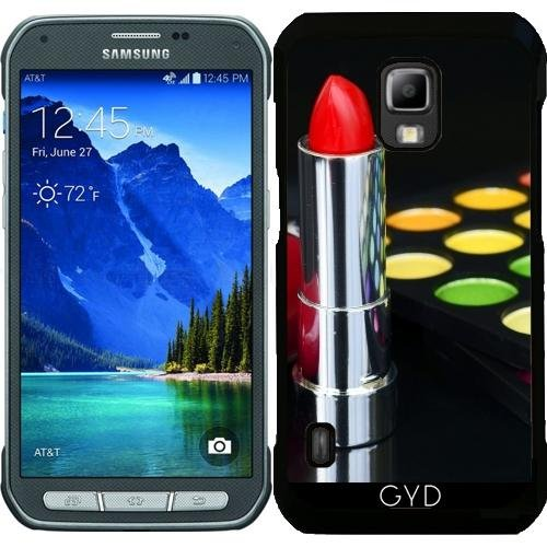 Custodia per Samsung Galaxy S5 Active - Ombretto Colorato Rossetto by Petra