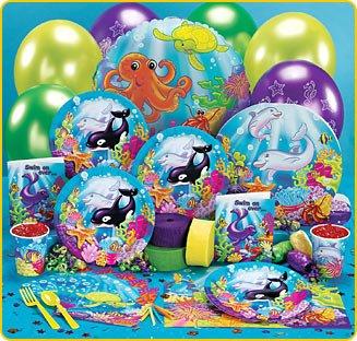 sea life birthday party games