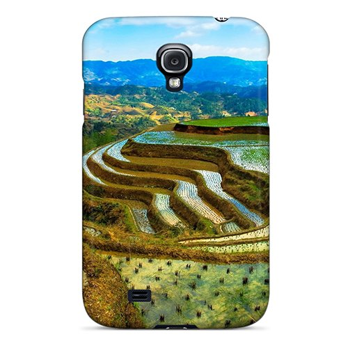 Galaxy S4 Case, Premium Protective Case With Awesome Look - Hanging Gardens