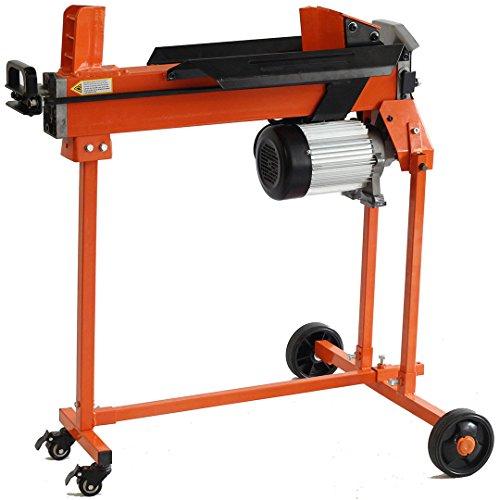 Forest-Master-5-Tonnen-Holzspalter-inkl-Doppelklinge-Tisch-und-Rcklaufsperre-Brennholzspalter-kontinuierlich-variabel-bis-zu-50-cm-im-Durchmesser--CE-zertifiziert