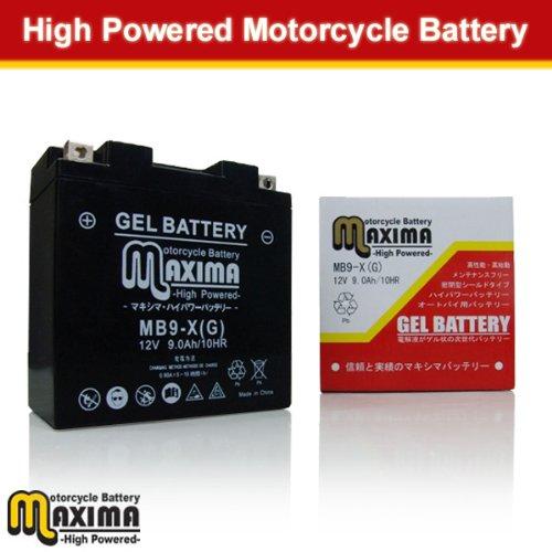 マキシマバッテリー(MAXIMA BATTERY) ジェルタイプ MB9-X エリミネーター125 BMW R80G/S