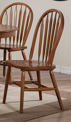 Arrow Back Windsor Side Chair Set of 2 (Windsor Side Chair compare prices)