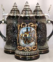 Black Oktoberfest German Beer Stein .125L from PINNACLE PEAK