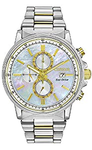 Citizen Eco-Drive Nighthawk Chronograph Stainless Steel - Two-Tone Women's watch #FB3004-58D