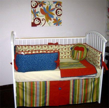 Cheetah Baby Bedding 17401 front