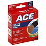 ACE Wrist Support, Wrap Around, Adjustable, Moderate Support 1 support