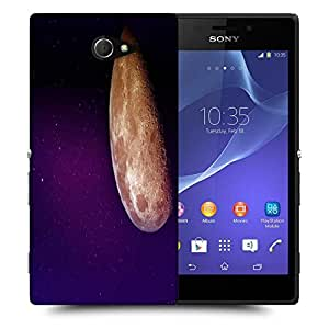 Snoogg our moon Designer Protective Back Case Cover For Sony Xperia M2