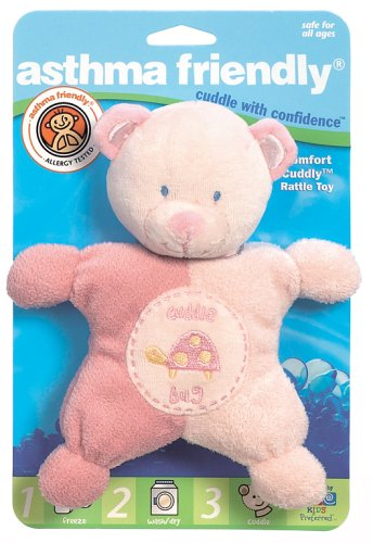 Kids Preferred Healthy Baby Rattle, Comfort Cuddly, Small - 1