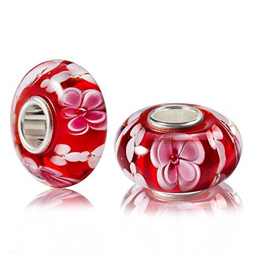 materia-muranoglas-beads-perle-rosa-rot-azalee-fur-european-beads-armband-kette-1668