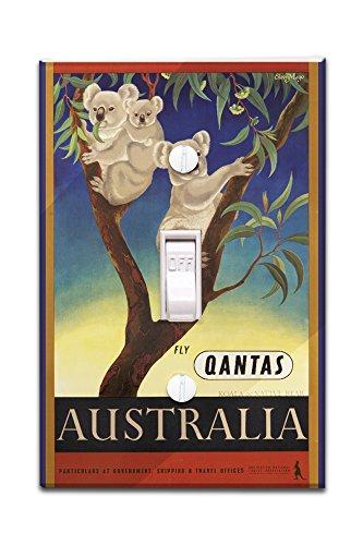 qantas-australia-vintage-poster-artist-mayo-eileen-australia-c-1953-light-switchplate-cover