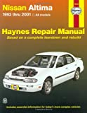 Nissan Altima, 1993-2001 (Haynes Automotive Repair Manual Series)