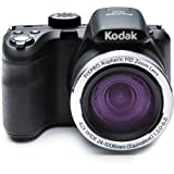 "Kodak PIXPRO Astro Zoom AZ421 16 MP Digital Camera with 42X Opitcal Zoom and 3"" LCD Screen (Black)"