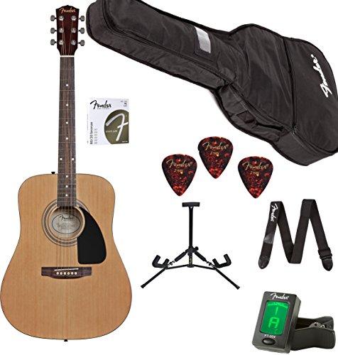 Fender Acoustic Guitar FA-100 Beginner Pack (Fender Starter Pack compare prices)