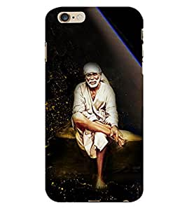 Shirdi Sai Baba Cute Fashion 3D Hard Polycarbonate Designer Back Case Cover for Apple iPhone 6S Plus