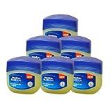 Vaseline BlueSeal Pure Petroleum Jelly 1.7oz (50ml) Jar (Pack of 6) by UNILEVER [Beauty]