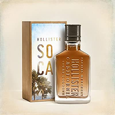 Hollister Socal Cologne Spray for Men, 2.5 Fluid Ounce