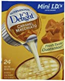 International Delight Coffeehouse Inspirations Caramel Macchiato, 24-count Creamer Singles (Pack of 6)