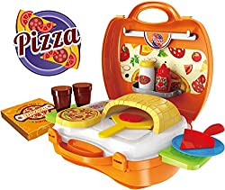 Saffire Pizza Suitcase Set