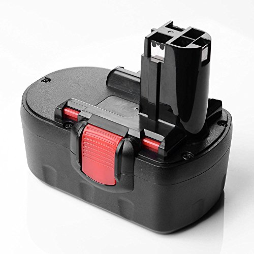 51luSyE0dwL - BEST BUY #1 Masione™ 18V 3000mAh Replacement Power Tool Battery For Bosch 2607335535,Bosch 2607335536,Bosch 2607335278,BOSCH BAT025 BAT026 BAT181 BAT160 BAT189 BAT180 52318 53518 3860K 1644K 3860CK 1659RK 3860CRK BOSCH 13618, 23618, 32618 (1 pack)