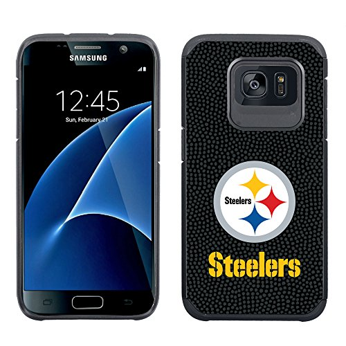 NFL Pittsburgh Steelers Football Pebble Grain Feel Samsung Galaxy S7 Case, Team Color from GameWear