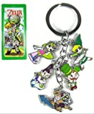 The legend of zelda key chain keyring keychain #A