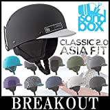 最新 SANDBOX/サンドボックスヘルメット CLASSIC 2.0 SNOW クラシック アジアフィット スノーボード スケート キングス