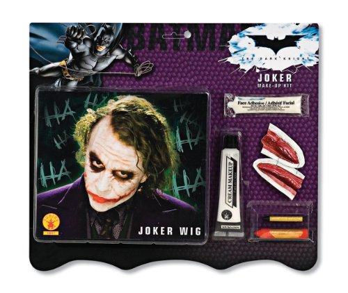 Deluxe Batman Joker Wig And Make Up Kit at Gotham City Store