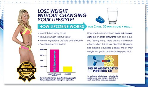 how to lose weight with lipozene