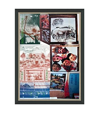 Robert Rauschenberg Roci China Bank off China (Printed In 1985) Framed Poster