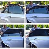 TFY Universal Baby-Sonnenblende für das Autoseitenfenster - schützt ihre Kinder vor Sonnenbrand - einlagiges Design -maximale Sicht - passt auf die meisten Autos