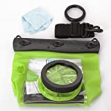 20M Underwater Waterproof Case DSLR SLR For Canon 5D III 5D2 7D 60D 600D Nikon D700 D5100 (Green)