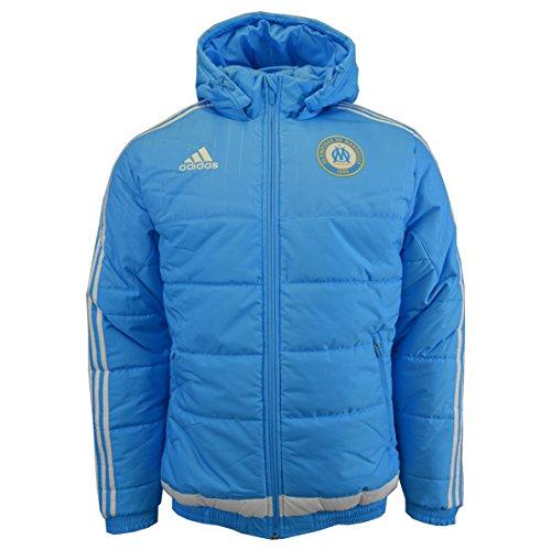 Adidas Herren Olympique Marseille Jacke, Blue/Dkblue, 3XL, S88911