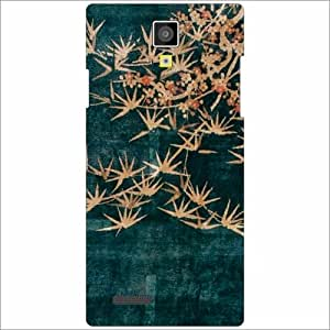 Micromax Canvas Xpress A99 Back Cover - Silicon Flowers Designer Cases