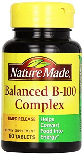 Nature Made Vitamin B-100, 60 Ct