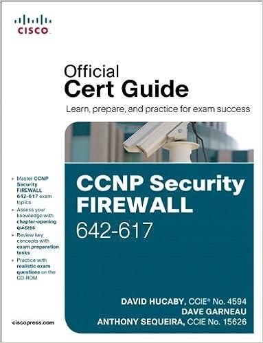 Cisco ССNP Security FIREWALL 642-617 Official Cert Guide