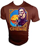 Vintage Star Wars A New Hope CHEWIE Chewbacca 12 Back T-Shirt