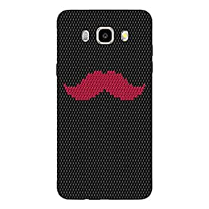 GripIt Cool Mustache Case for Samsung Galaxy J5 (2016)