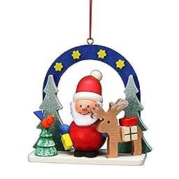 10-0588 - Christian Ulbricht Ornament - Starry Sky Santa - 2.75\