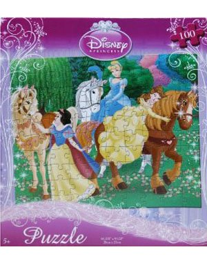 Cheap Fun Disney Princess 100-Piece Jigsaw Puzzle (Horseback Riding) (B0039K55ZI)