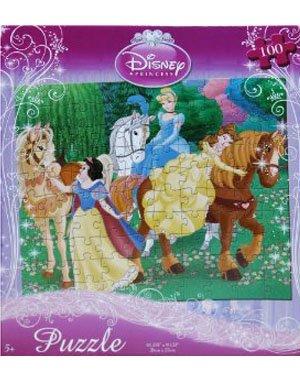 Disney Princess 100-Piece Jigsaw Puzzle (Horseback Riding) - 1