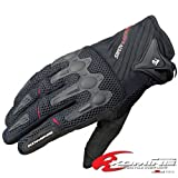 コミネ(Komine) GK-157 Flex riding M-Gloves AJANTA BLACK L 06-157