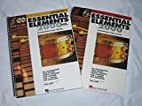 img - for Hal Leonard Essential Elements 2000 Plus comprehensive band method Percussion Book 1 & 2 with CDs room book / textbook / text book